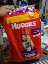 Pacotão de fraldas huggies G