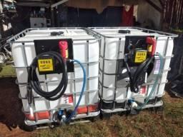 tanques para  diesel com bomba, filtro e bico automático, novos com garantia.