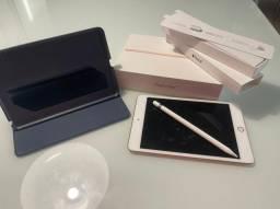 iPad Mini 5ª Geração Rose + Apple pencil + Brinde