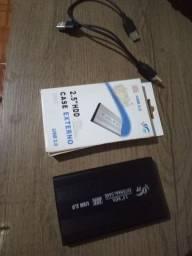 HD com case de 320 gigas