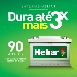 Título do anúncio: Bateria Heliar 60AH $379,90 até 10X cartão