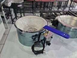 Fritadeira elétrica 3,5 litros INOX - Entrega grátis