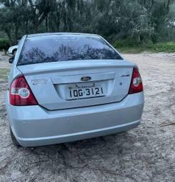 Ford Fiesta 1.6 8V Flex 5p 2008 - Banc. Couro + Rod. Liga Leve + Rádio Original Fábrica