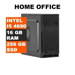 Computador PC intel I5-4690 3.50Ghz, 16GB Ram, SSD 256GB, Fonte 500w