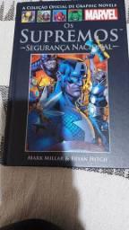 Livro Coleção  Marvel - Os Supremos Segurança  Nacional