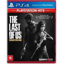 Jogo The Last Of Us Remastered Hits PS4 Mídia Física Lacrado