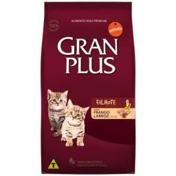Ração gran plus gato