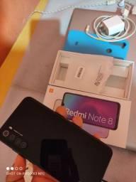 Xiaomi redmi note 8 Black completo