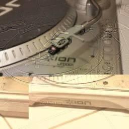 Toca Disco - Ion Lp Dock - Phono Ou Auxiliar Perfeito Estado