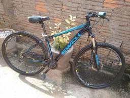 Bicicleta Aro 29, relação Shimano ( 38- * )