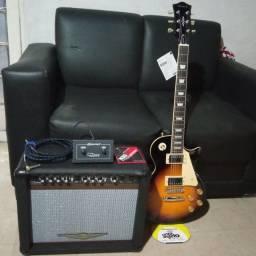 Guitarra lps 280 .caixa 300r