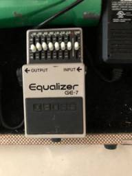 Pedal GE-7 Equalizer Boss