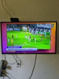 Não e smart Tv 39 funcionando perfeitamente,sem controle