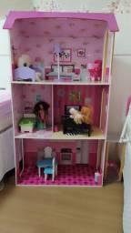Casinha de boneca - barbie