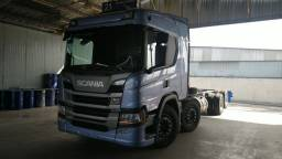 Scania P360 ano 22 8x2 chassis