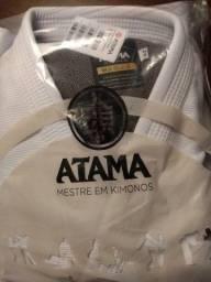 Título do anúncio: Kimono jiu-jitsu Atama Classic branco A2