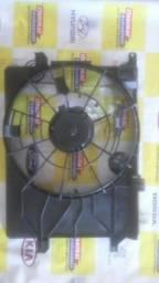 Carenagem suporte defletor ventoinha eletroventilador hyundai tucson