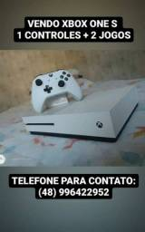 Título do anúncio: Xbox One S usado