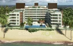 Apartamento Beira Mar em Areia Dourada,4 Suítes,180m²