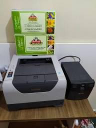 Impressora laser brother 5340 + 2toners e estabilizador 1000kva