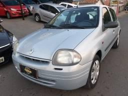 Clio 1.0 Ar Condicionado Economico Financiamento - 2001