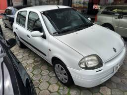 CLIO 1.0, 8v , AR COND. , Financio - 2002