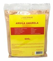 Argila Amarela 500g Combate O Envelhecimento Labotrat