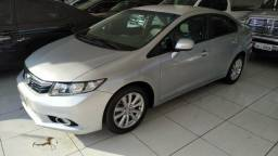 Honda Civic 2014 lxr automático prata - 2014