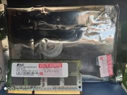 Promoção Kit HD interno 500gb + Memória ram 4gb Notebook novo