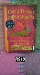 """Livro """"Como Treinar O Seu Dragão"""""""