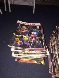 Coleção de HQs/Gibis Marvel e Dc comics