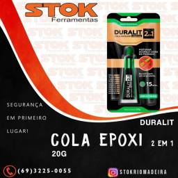 Cola Epoxi 2 em 1 Duralit