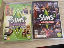 2 jogos de pacote de extensão the sims