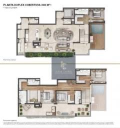 Cobertura com 4 dormitórios à venda, 346 m² por R$ 4.872.994 - Real Parque - São Paulo/SP
