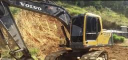 Escavadeira volvo 140
