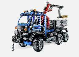 Blocos tipo Lego Technic, caminhão guindaste, 805 pcs