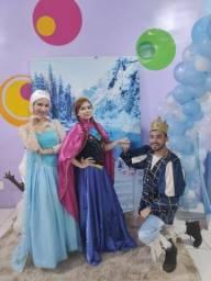 Ana e Elsa do Frozen