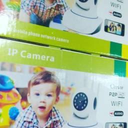 Câmera IP Noturna babá eletrônica ao vivo ( entrego)