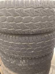Vendo 3 pneus aro 15