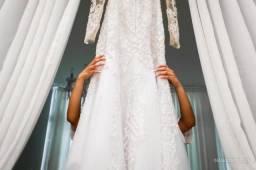 Vestido de noiva sereia 38/40