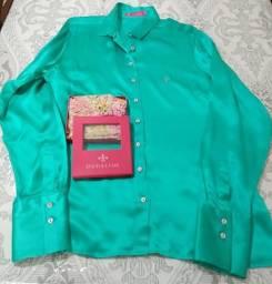 Camisa Seda Dudalina 46