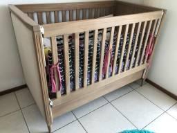 Berço de Bebê Em madeira Maciça