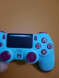 Controle ps4 blue