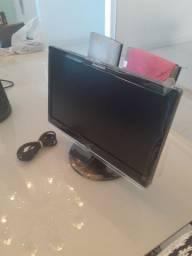 Monitor Lenovo, nunca usado, por 200 reais