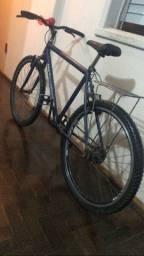 Bicicleta top Raibown + buzina + caroneira, de barbada