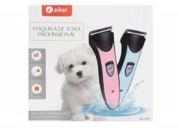 (NOVO)Maquininha De Tosa Profissional P/cachorro Sem Fio Aiker