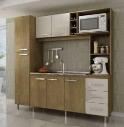 Cozinha 2,00 mts compactada
