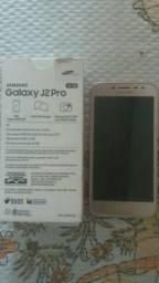 J2 pro dourado 16gb novo zero
