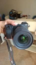 Vendo Sony a6300 (com Cage Smallrig Gaiola) + Lente sigma F1.4 16mm