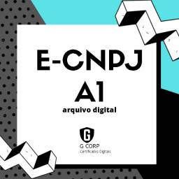 E-cnpj A3, certificado digital